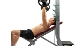 5. Incline Bench