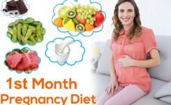 Diet untuk Ibu Hamil Bulan Pertama