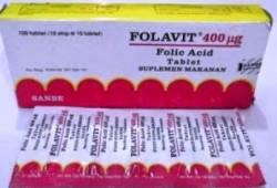 Harga Suplemen Asam Folat 'Folavit', Suplemen penting untuk Ibu hamil