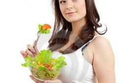 Diet Sehat untuk Ibu Hamil memasuki Trimester Kedua : Kehamilan 4 Bulan