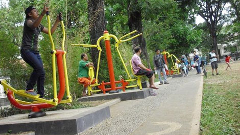 Olahraga di Taman