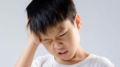 Sakit Kepala pada Anak - www.sehatfresh.com