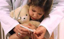 tes gula darah anak